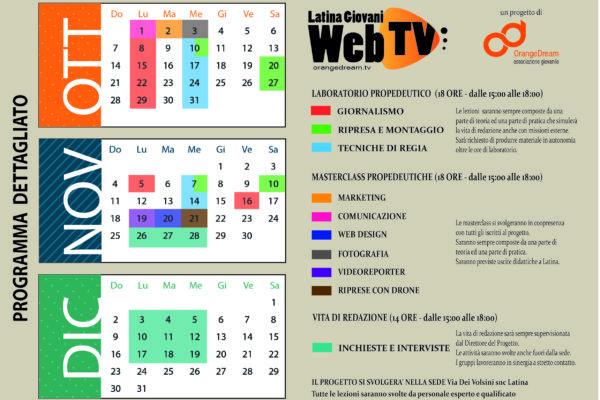 Programma definitivo Latina Giovani Web TV-01