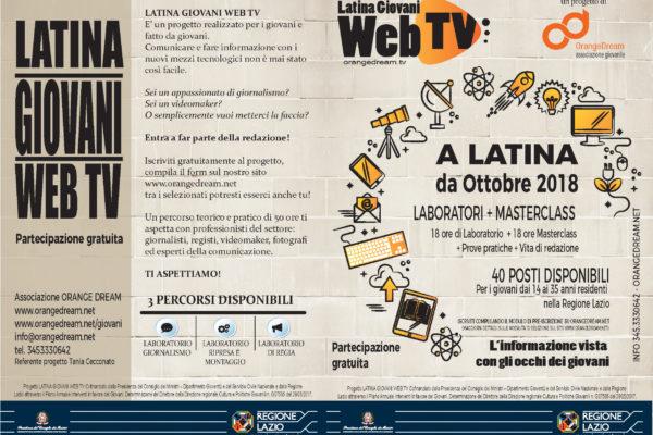 flyer Latina Giovani Web tv def.